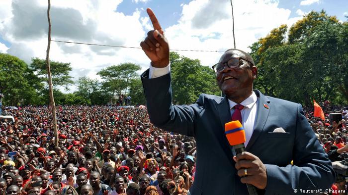 Malawi Opposition Lazarus Chakwera (Reuters/E, Chagara)