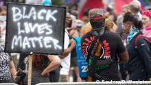 USA BlackLivesMatter | Protest gegen den Tod von Breonna Taylor in Louisville