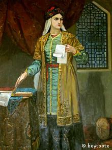 Iran Dichterin Mahsati Ganjavi