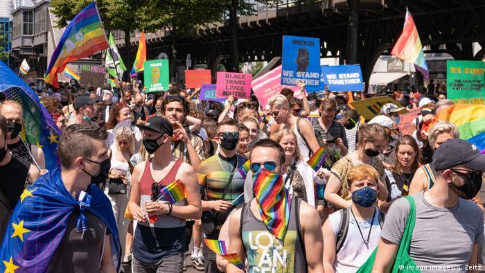 The Berlin Pride event