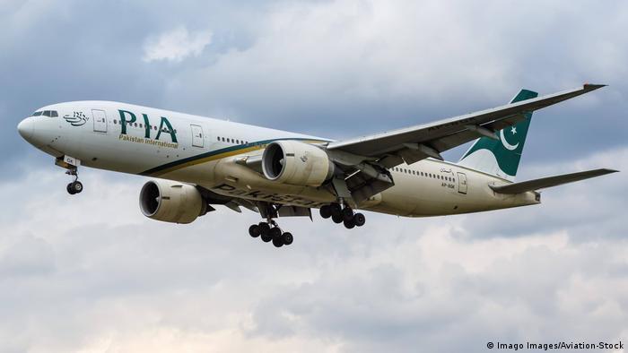 هواپیمای شرکت هوایی بین المللی پاکستان