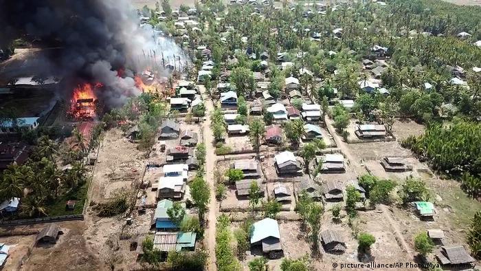 Myanmar Konflikt in Rakhine (picture-alliance/AP Photo/Myanmar Army )