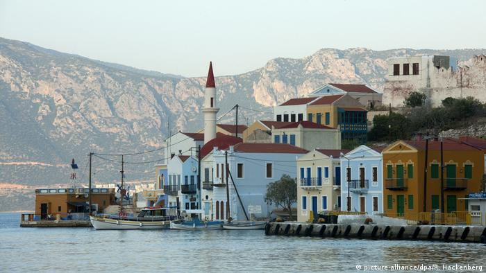 Griechenland | Insel Kastellorizo (picture-alliance/dpa/R. Hackenberg)