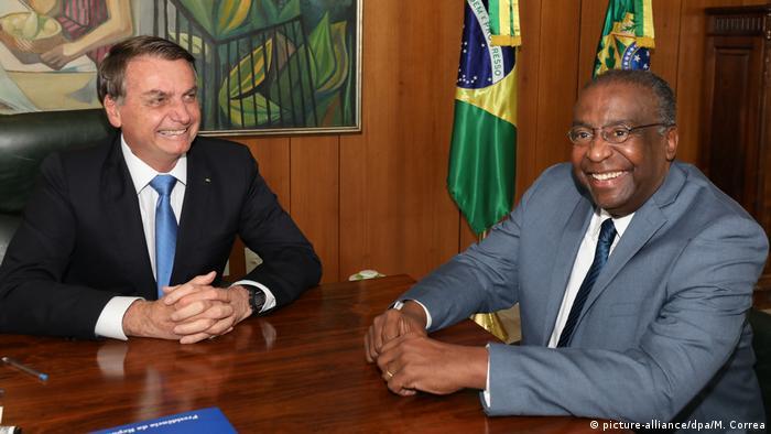 Neuer Bildungsminister von Brasilien | Carlos Alberto Decotelli (picture-alliance/dpa/M. Correa)