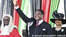 Malawi Lilongwe Amtseinführung Präsident Lazarus Chakwera