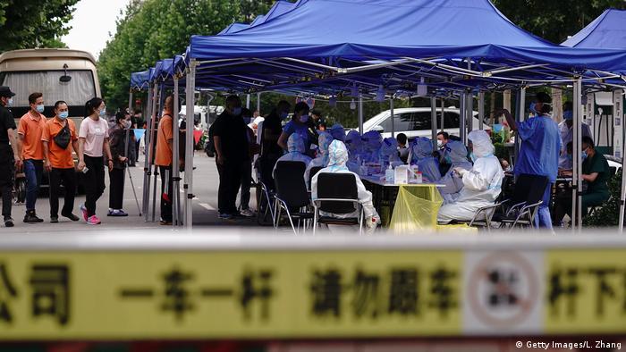 China Peking Coronavirus Tests (Getty Images/L. Zhang)