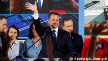 Polen Warschau Kandidat Rafal Trzaskowski nach der ersten Runde der Präsidentschaftswahl