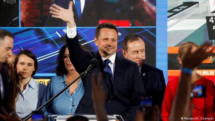 Мер Варшави Рафал Тшасковський вважає, що має ще шанси на перемогу