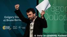 Frankreich, Lyon I Wahlen 2020 I EELV I Europe Ecologie Les Verts I Gregory Doucet