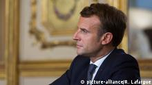 Symbolbild I Emmanuel Macron I Wahl 2020