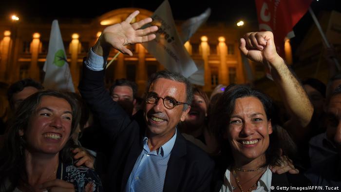 Frankreich, Bordeaux I Wahl 2020 I Les Verts I EELV I Pierre Hurmic