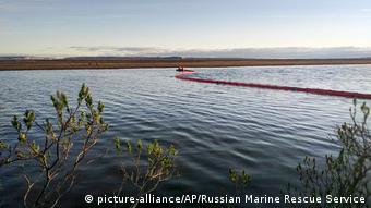 Ликвидация последствий разлива нефтепродуктов в тундре под Норильском, 2020 год