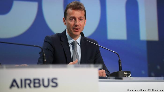 Генеральный директор Европейского авиаконцерна Airbus SE Гийом Фори