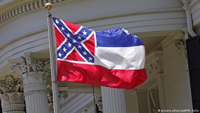 Bandeira do estado do Mississippi, nos Estados Unidos
