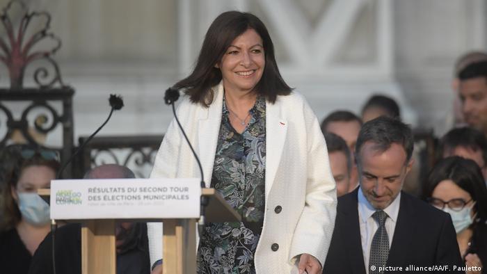 Frankreich, Paris I Wahl 2020 I Anne Hidalgo