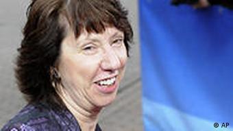 EU-Außenbeauftragte Catherine Ashton (Foto: AP)