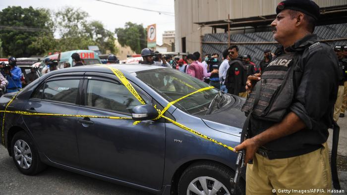 Pakistan Karatschi | Angriff auf die Börse
