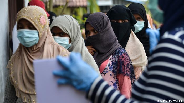 Pengungsi Rohingya terdampar di Aceh (AFP/C. Mahyuddin)