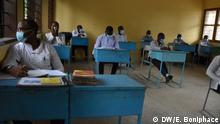 Tansania | Dar es Salaam | Schüler im Unterricht mit Masken