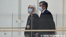 Frankreich Francois Fillon mit Ehefrau Penelope Fillon