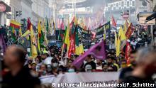 Österreich Kundgebung von kurdischen und linken Aktivisten in Wien