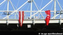 Türkei und Österreich Flagge