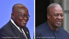 Kombobild Nana Akufo-Addo und John Dramani Mahama