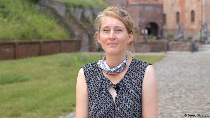 Citadel Berlin museum director Urte Evert (DW/W. Glucroft)