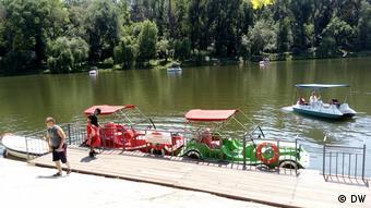 В кишиневском парке развлечений