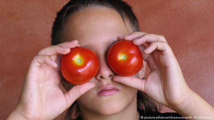 Redewendung | Tomaten auf den Augen