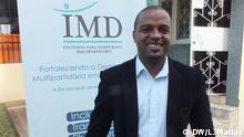 29.06.2020, Maputo, Mosambik, Portrait von Osman Cossing - Institut für Mehrparteiendemokratie (IMD) in Mosambik // Redakteurin: Madalena Sampaio