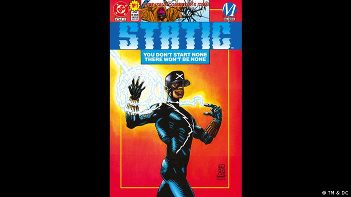 Cover of 'Static' comic book (Bild: TM & DC)