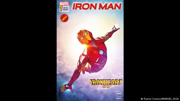 Cover of Iron Man comic book (Panini Comics/MARVEL 2020)