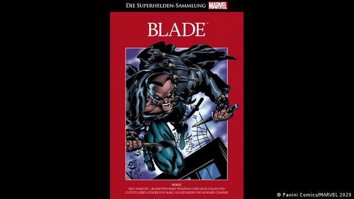 Cover of Blade comic book. (Panini Comics/MARVEL 2020)
