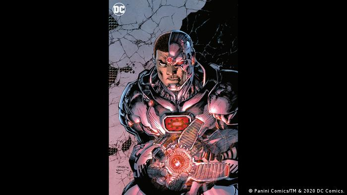 Cyborg comic superhero. (Bild: Panini Comics/TM & 2020 DC Comics.)