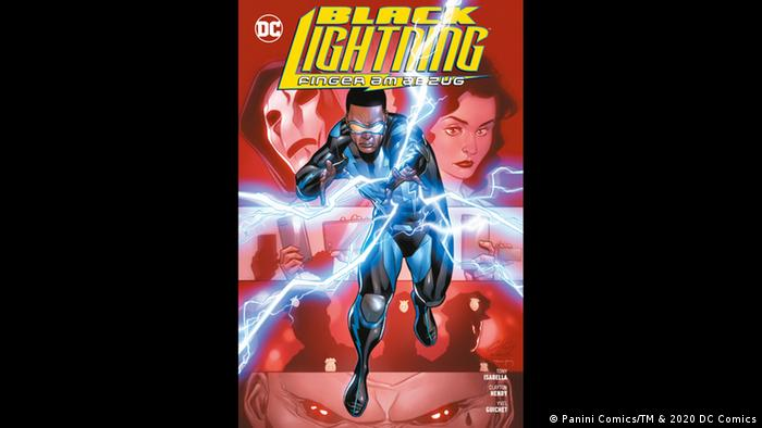 Black Lightning cover (Panini Comics/TM & 2020 DC Comics)