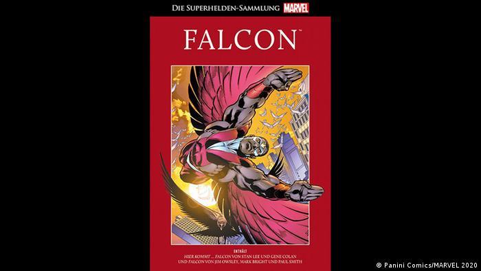 Cover of 'Falcon' comic book (Panini Comics/MARVEL 2020)