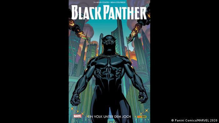 Cover of 'Black Panther' comic (Bild: Panini Comics/MARVEL 2020)