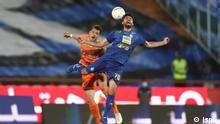 29.06.2020+++Premier League Fußball Iran Spiel Esteghlal gegen Saipa.