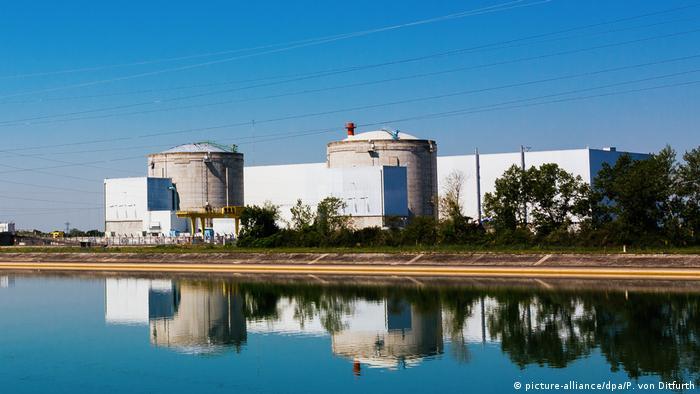 Французскую АЭС в Фессенхайме отключили