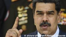 Nicolas Maduro (picture-alliance/AP Photo/M. Delacroix)