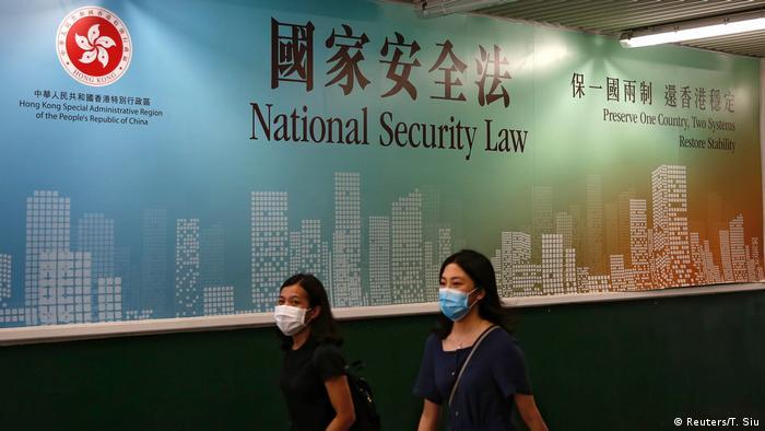 Hongkong Sicherheitsgesetz (Reuters/T. Siu)