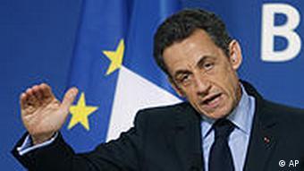 EU Griechenland Finanzkrise Nicolas Sarkozy Frankreich