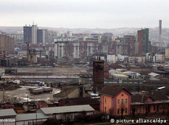 Pristina Haupstadt Serbien Flash-Galerie Grenzprobleme auf dem Balkan