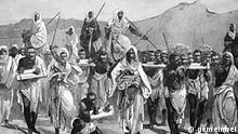Rassismus Sklaverei arabische Karavane Sahara