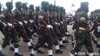 Angola Cabinda & Luanda |Armee