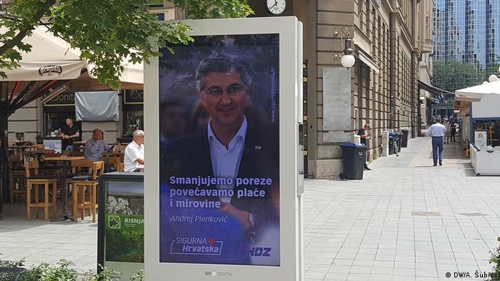Izborna poruka Andreja Plenkovića na Cvjetnom - Preradovićevom trgu u Zagrebu