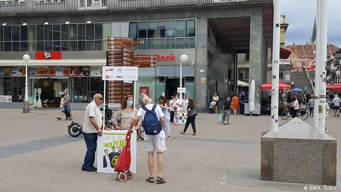Štand Možemo u Zagrebu