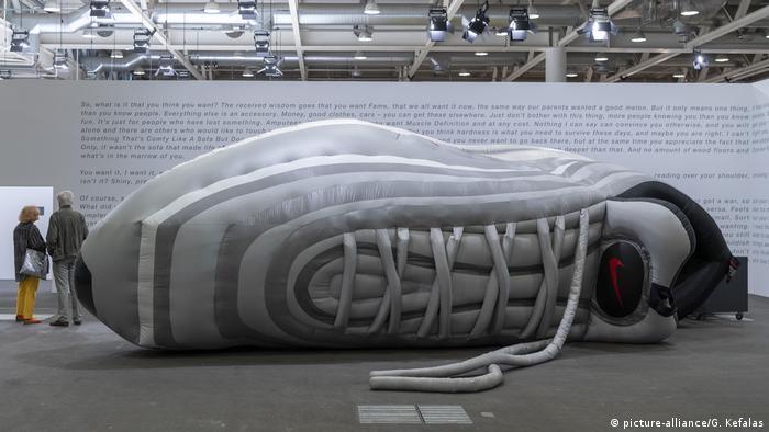 BG I Sneakers I Turnschuhe I Nike (picture-alliance/G. Kefalas)