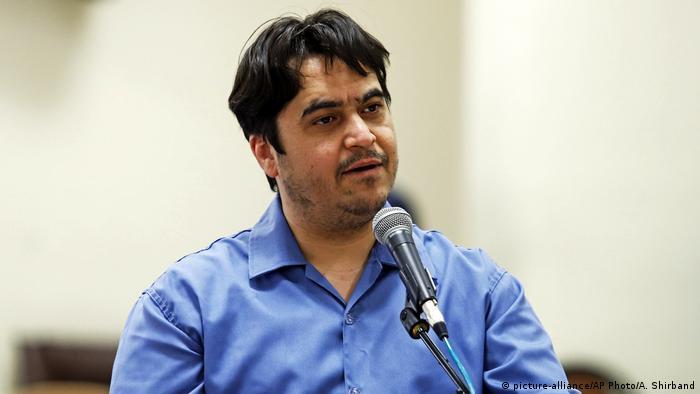 Iran Teheran   Ruhollah Zam - Journalist